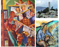 image of Coit Tower murals