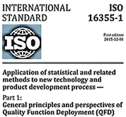 ISO 16355 - Keeping Up with Global Best Practice